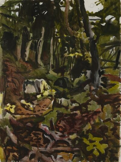 Fairfield Porter, 'The Trail', 1974