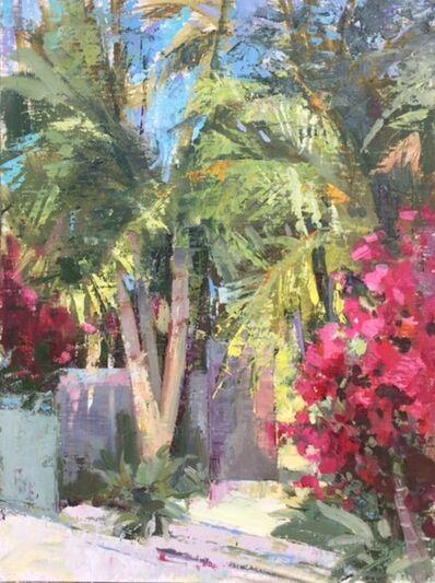 Nancy Tankersley, 'Palm Trees'