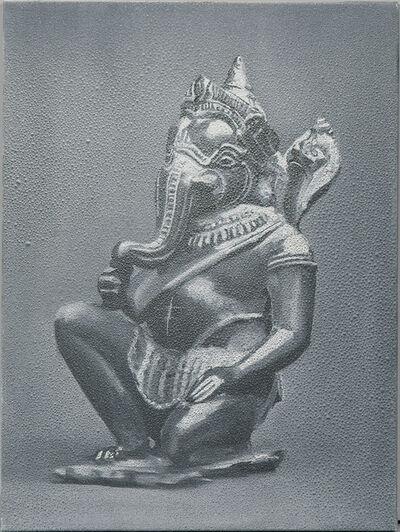 Michael Byron, 'Kneeling Ganesh'