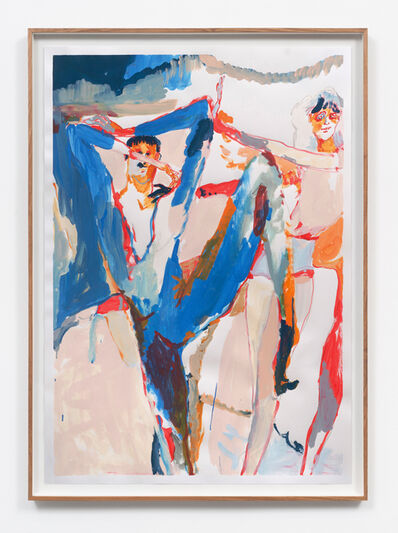 Michael Taylor (b. 1979), 'Blue Birds', 2020
