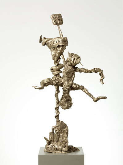 Jonathan Meese, 'ZACKTARZANILLÉ (FUNKTION SCHMORGURKE)', 2012