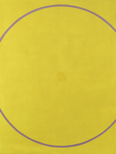William Turnbull, 'Untitled (Yellow Violet Arc)', 1962
