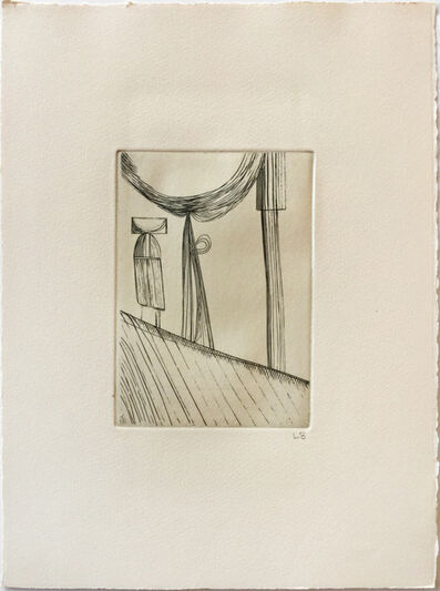 Louise Bourgeois, 'Montée difficile (Slow Climb) Version 2 of 2', 1946-1990