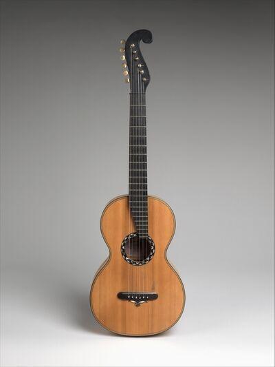 Christian Frederick Martin, 'Guitar', ca. 1838