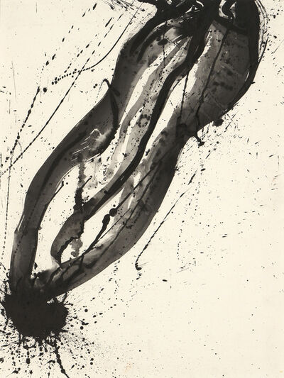 Sam Francis, 'Untitled (Black and White Composition)', 1988