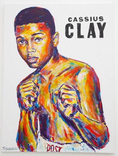 John Stango, 'Cassius Clay ', ca. 2018