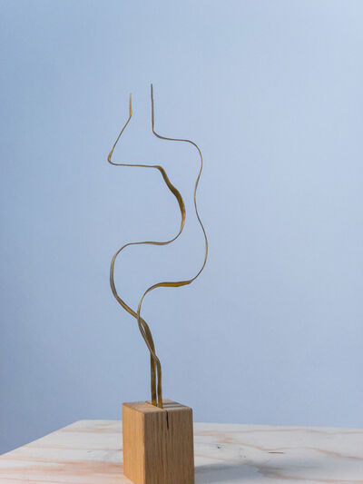 """Jacques Jarrige, 'Sculpture in brass by Jacques Jarrige """"Angel #12""""', 2017"""