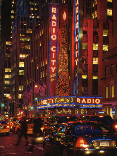 Davis Cone, 'Radio City/Jay Walkers', 2012