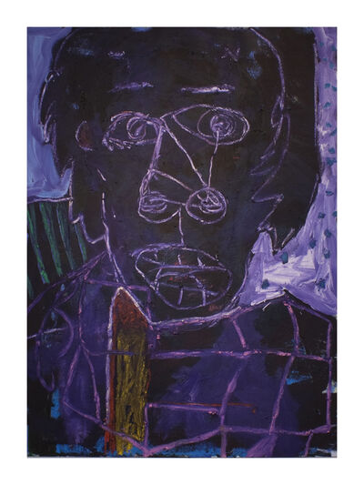 Enrico Riley, 'Abstract: Head, Waking From a Bad Dream, Alex', 2013