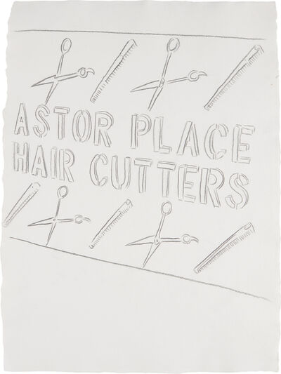Andy Warhol, 'Astor Place Haircutters', ca. 1984