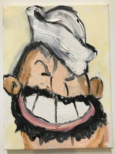 Erik Hanson, 'Oil painting portrait of Bluto: 'Here's Bluto, 4/25/17A'', 2017