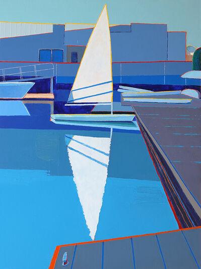 Timothy Mulligan, 'Sunlit Sail, Monterey', 2021