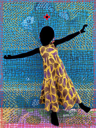 Saidou Dicko, 'THE YELLOW PRINCESS', 2021