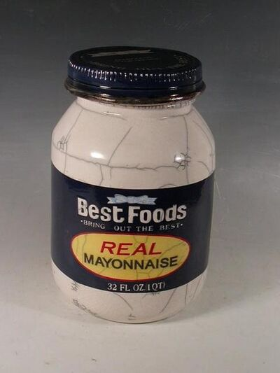 Karen Shapiro, 'Best Foods Mayo Jar', 2018