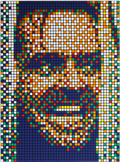 "Invader, 'RUBIK KUBRICK II ""THE SHINING"" (JACK)', 2007"