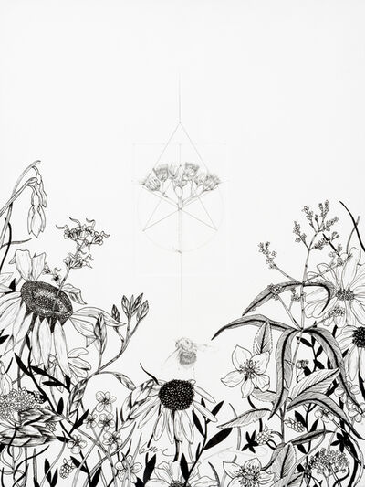 Jessica Albarn, 'Malu Quo Commonius Eo Peius (Bumble Bee With Meadow Flower)', 2019