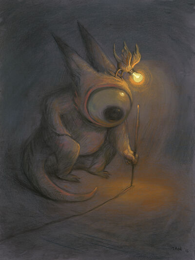 Shaun Tan, 'The First Line', 2016