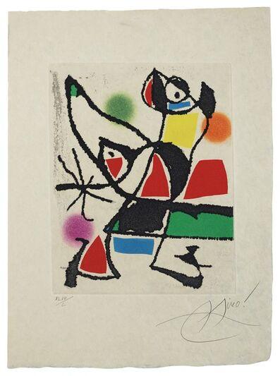 Joan Miró, 'Le Marteau sans maître: one plate (Dupin 946)', 1976