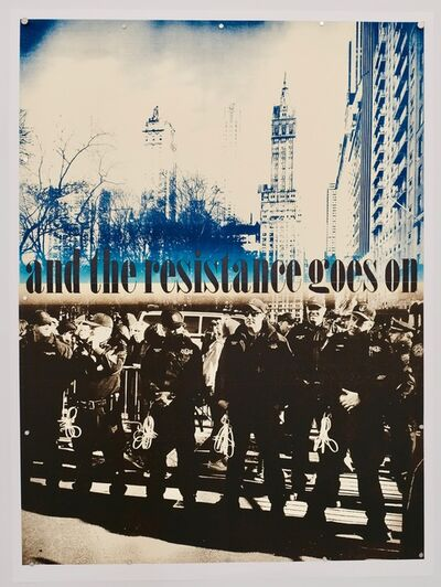 Ruth Lingen, 'and the Resistance goes on', 2019