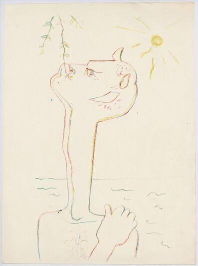 Jean Cocteau, 'Montagnes Marines', 1961