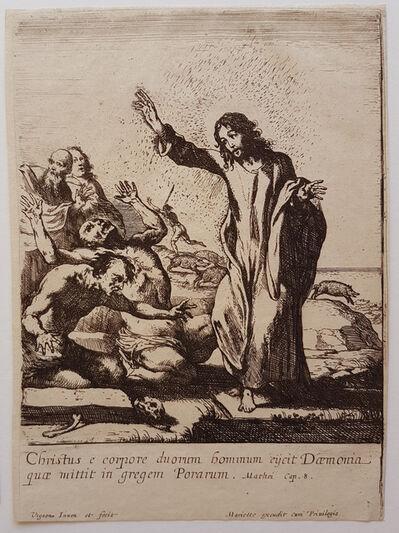 Claude Vignon, 'Christ Exorcising the Demons', ca. 1640