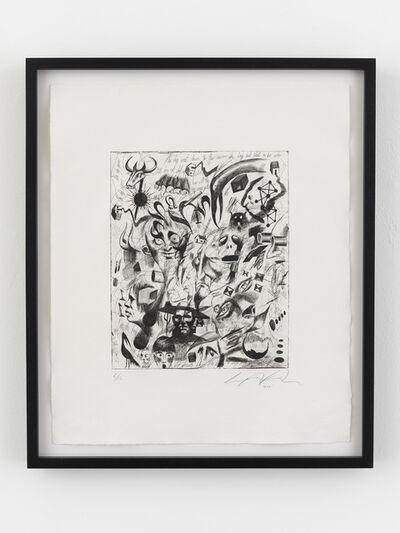 Ashley Bickerton, 'White Doodle', 2006