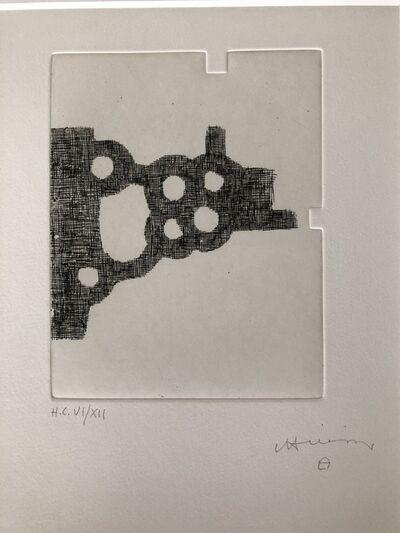 Eduardo Chillida, 'Untitled, From Jorge Semprún L'Écriture ou la vie (French edition)', 1997