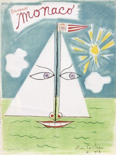 Jean Cocteau, 'Monaco', 1959
