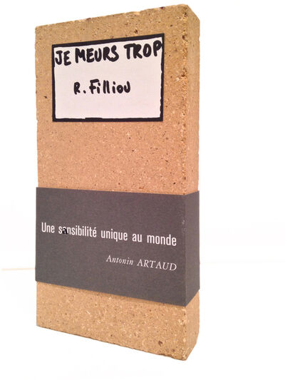 Robert Filliou, 'Je Meurs trop', 1977