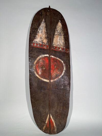 Unknown Artist, 'Mendi Shield', ca. Early 20th century pre-contact