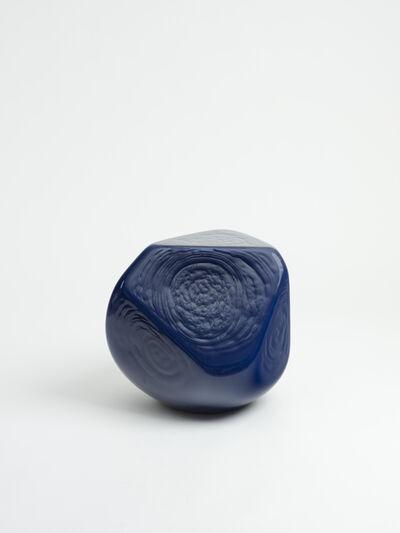 Jean-Luc Moulène, 'Figure intermediaire excentrique Varia 4 - bleu', 2019