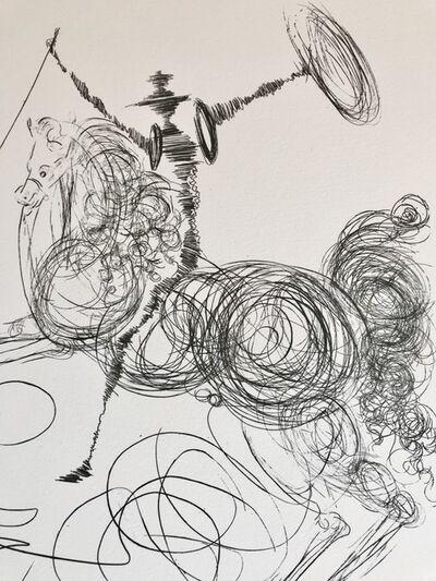 Salvador Dalí, 'Don quichotte', 1987