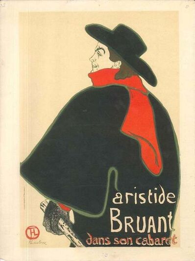Henri de Toulouse-Lautrec, 'Aristide Bruant dans son Cabaret (After H. de Toulouse-Lautrec)', 1951