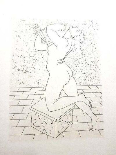 André Derain, 'André Derain - Ovid's Heroides - Original Etching', 1938