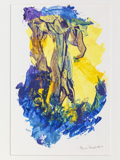 Bryan Kneale, 'Untitled (Blue and Yellow)', 2017