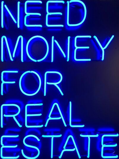 Beau Dunn, 'NEED MONEY FOR REAL ESTATE'
