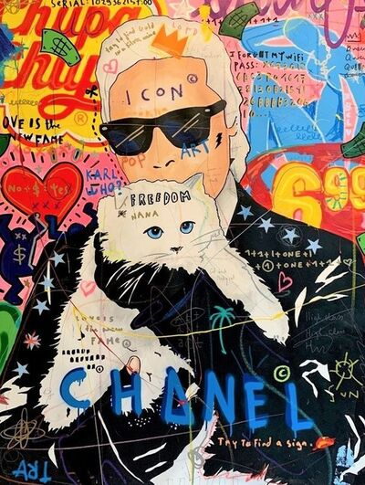 Jisbar, 'Karl and Cat', 2019