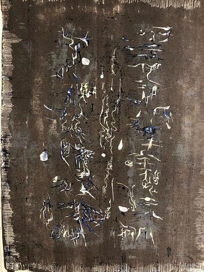 Zao Wou-Ki 趙無極, 'XXe siècle 10', 1958