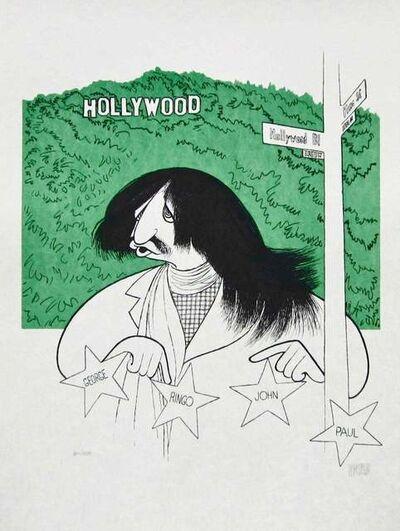 Al Hirschfeld, 'Ringo Starr goes to Hollywood', 2001