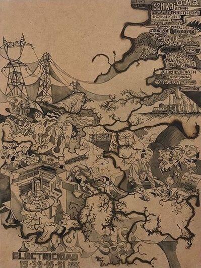 Tohru Matsushita, 'Electric Drawing No.1', ca. 2020