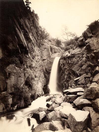 William Henry Jackson, 'Rainbow Falls, Manitou, CO', 1880, 81/1880, 81