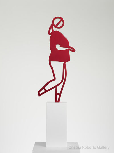 Julian Opie, 'Running People: Amy', 2020