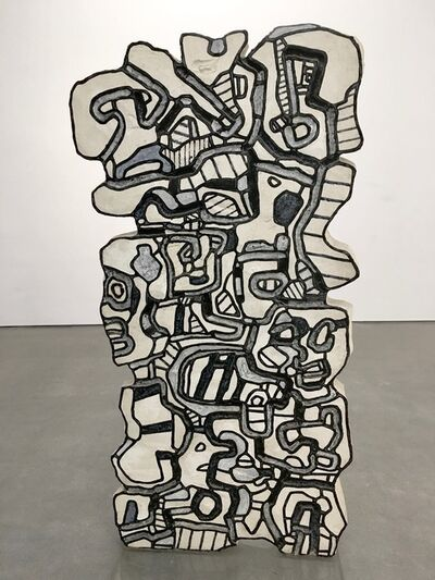 Jean Dubuffet, 'Element Bleu XII', 1967
