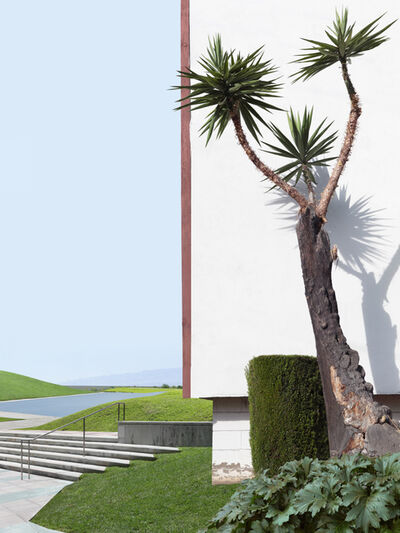 Lauren Marsolier, 'Landscape with Tree and Lawn', 2016