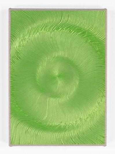 Giacomo Santiago Rogado, 'Coalescense ( Ivory, Iridescent Green, Yellow )', 2018