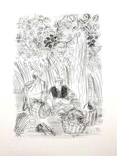 Raoul Dufy, 'Raoul Dufy - Paysan - Original Etching', 1940