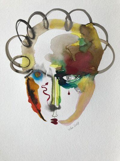 Wole Lagunju, 'Cliche Tears IV ', 2017