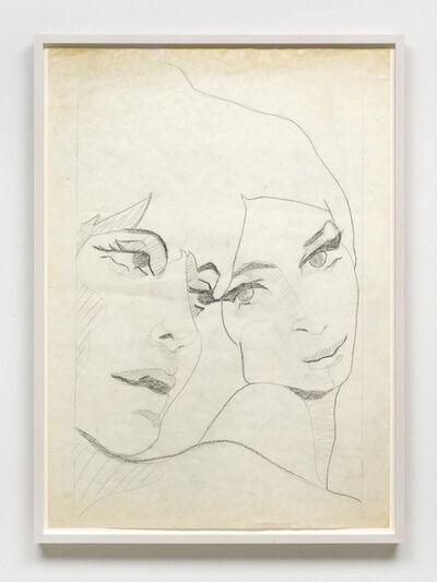Evelyne Axell, 'Etude pour double portrait', 1969