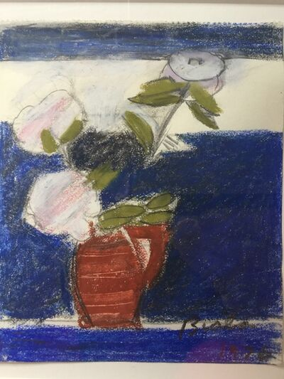Janice Biala, 'Untitled (Peonies in Red Vase)', 1976