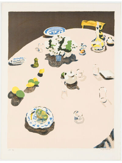 Fairfield Porter, 'The Table', 1971